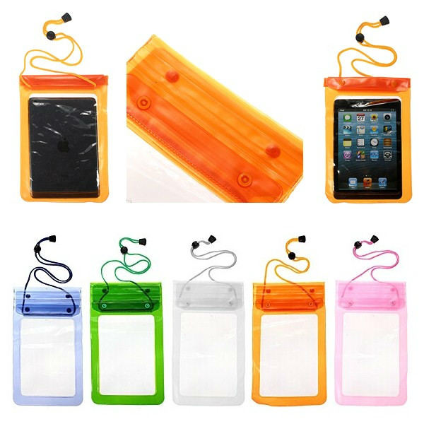Universal Transparent Waterproof Case Cover Pouch For 7 Inch Tablet