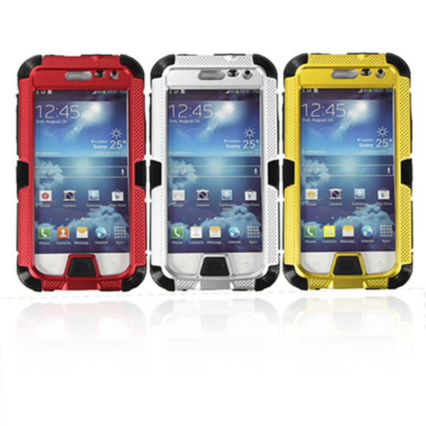 Aluminum Metal Water/Shock/Dust Proof Case For Samsung Galaxy S4 Mini