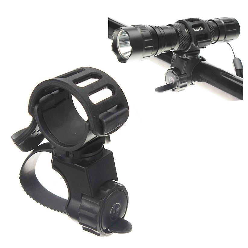 360 Bike Bicycle Flashlight Torch Mount Holder Light Holder Clip