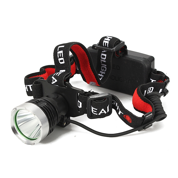 3-Mode XM-L T6 LED Rechargeable 18650 Headlight Headlamp