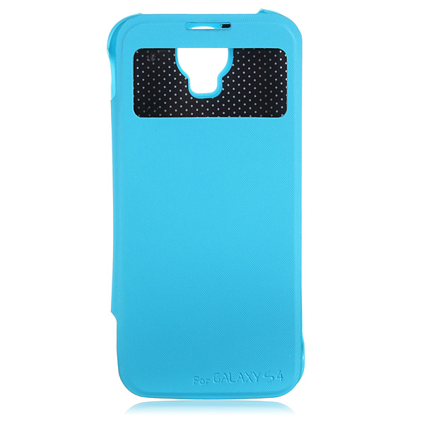 3500mAh External Battery Leather Case For for Samsung Galaxy S4 i9500