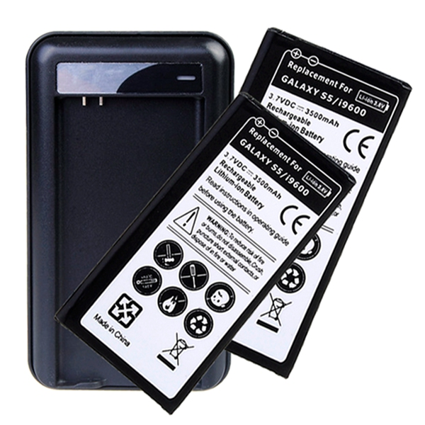 3500mAh Capacity Replacement Battery for Samsung Galaxy S5 i9600