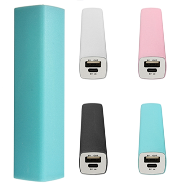 2800mAh Stick Portable External Battery Charger Power Bank V8 Cable