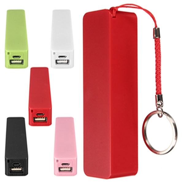 2600mAh Perfume Portable Charger Power Bank for Cellphone