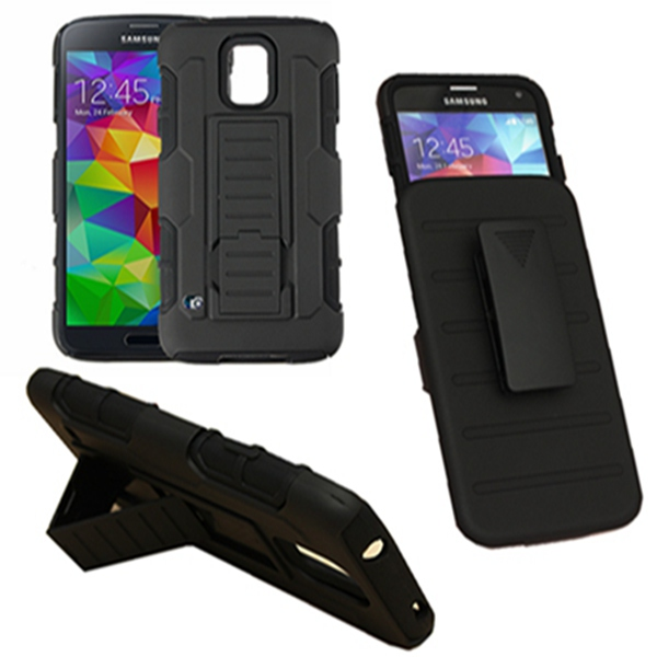 Armor Holster Protector Combo  Belt Clip Case For Samsung Galaxy S5