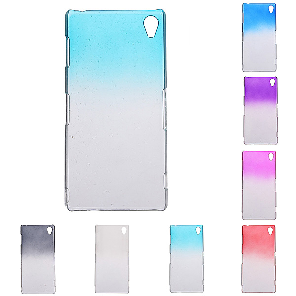 3D Raindrops Transparent PC Hard Back Cover Case For Sony Xperia Z3