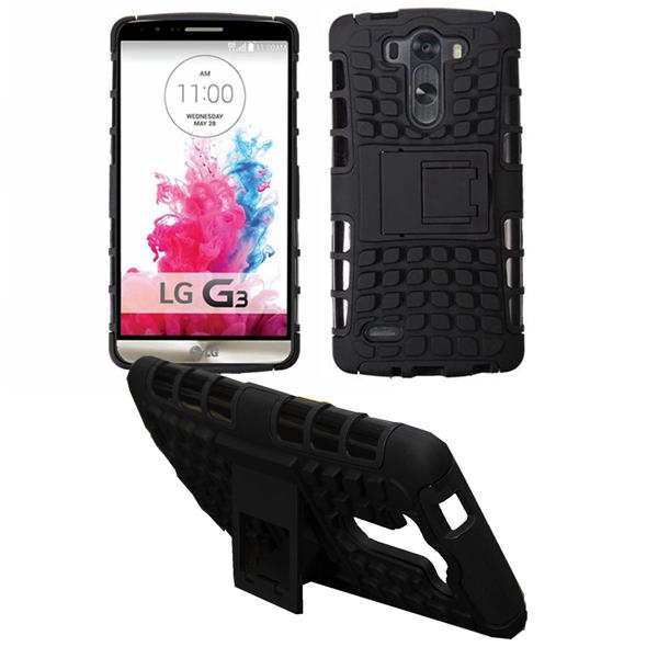 Armor Hybrid Rugged Impact Case Stand For LG G3 Mini