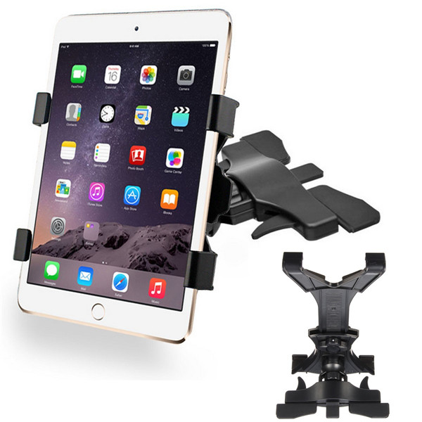 "Universal 360° Rotating Car CD Slot Holder Mount Stand For 7-10"" Tablet iPad PC GPS"""