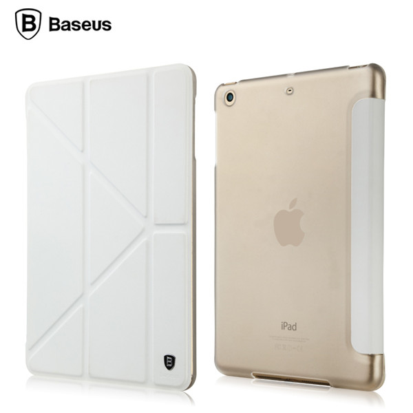 BASEUS Pasen Triangle Flip Folio Stand Case Smart Cover For iPad Mini 1 2 3