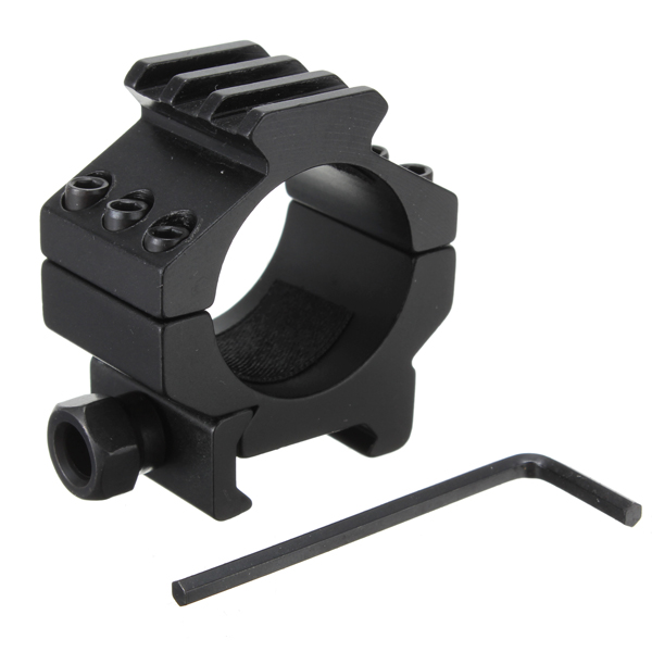 30MM Tactical Heavy Duty Scope Rings With Rail Top Rail Extension