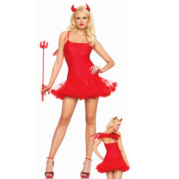 Costume Red Flirt Naughty Devil