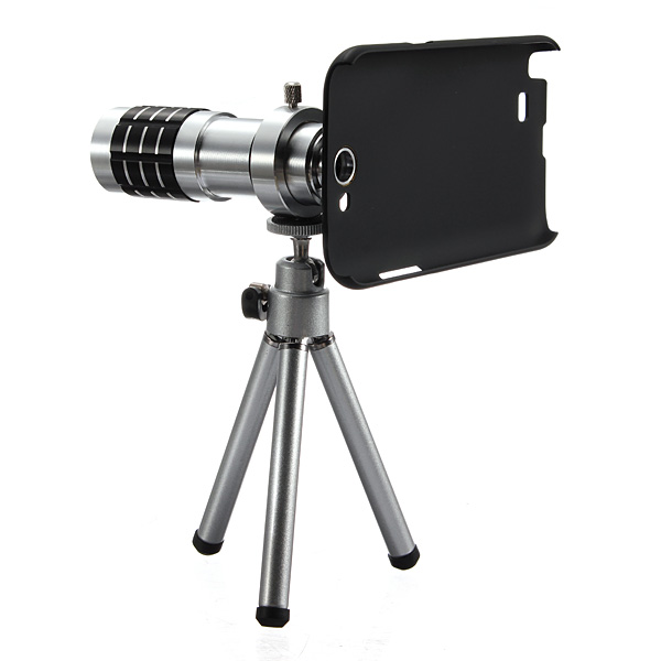 12X Zoom Lens Tripod Camera Telescope For Samsung Galaxy Note 2 N7100