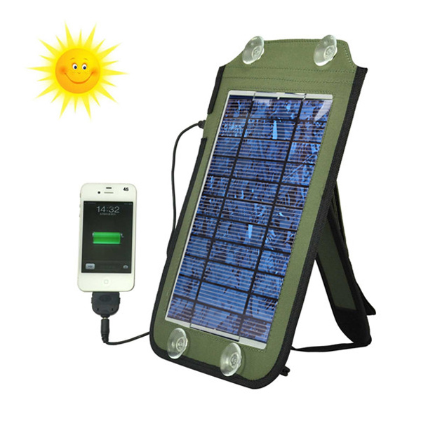 3W Solar Panel Source Power Charger For iPhone Smartphone Device