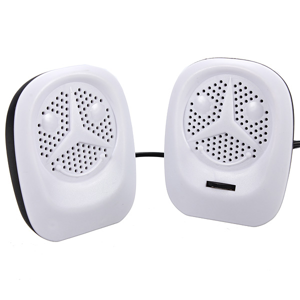 2X Portable USB Music Player Speaker For PC Laptop Computer Cellphone