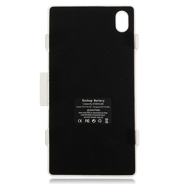 3500mAh Portable Backup Battery Charger For Sony Xperia Z1 L39h