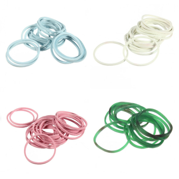 1000pcs Color Mix Elastic Hair Band Small Rubber Bands
