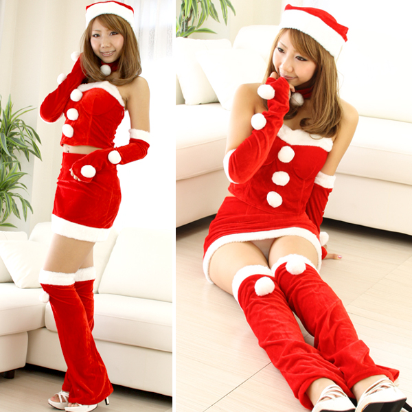 Christmas Performing Costume Women's Popular Red