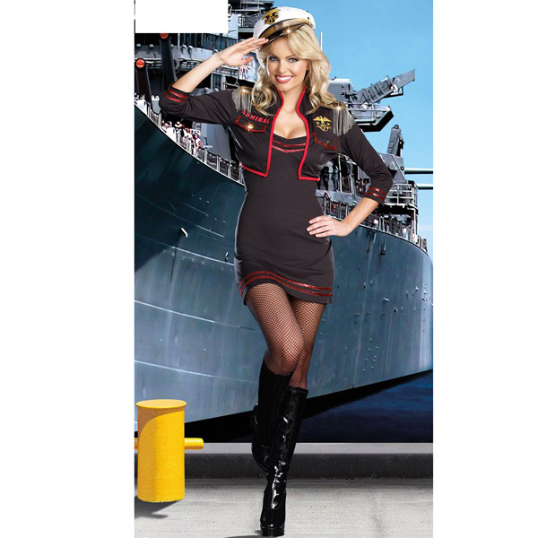 Costume Captain Uniform Roma Private Sailor