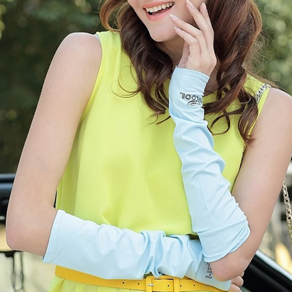 Cooling Arm Sleeves Cover UV Sun Protection Outdoor Sports