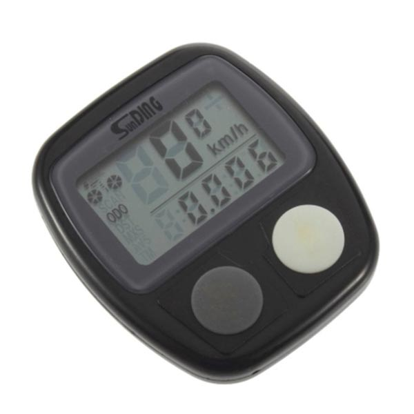 Folding Bike Timers Practical Speedometer Highway Car Odometer