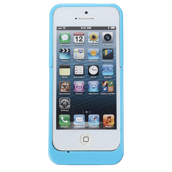 2200mAh External Battery Backup Charger Case For iPhone 5 5S 5C