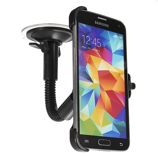 360° Rotation Car Windshield Mount Holder for Samsung Galaxy S5 i9600