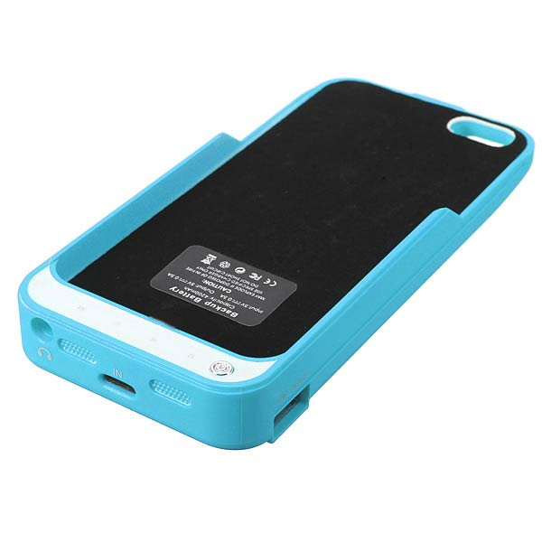 4200mAh External Backup Battery Case Cover For iPhone 5 5S