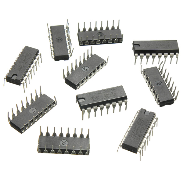 10 Pcs PT2399 Echo Delay IC Chip DIP PTC Audio Processor Stompbox