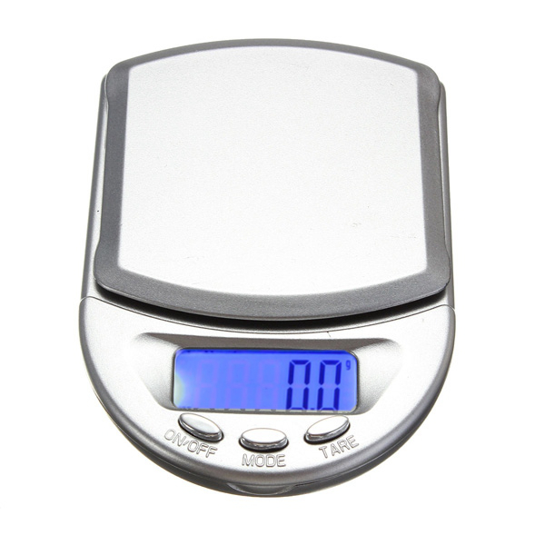 0.1 - 500g LCD Display Digital Pocket Weigh Scale Balance