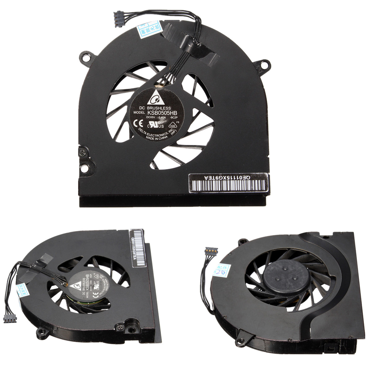 Laptop Notebook CPU Cooling Cooler Fan For MacBook Pro 13
