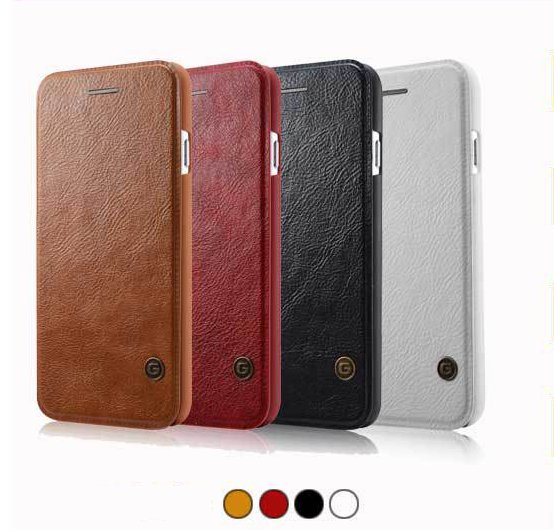 G-Case Luxury Leather Flip Cover Card Wallet Case For iPhone 6