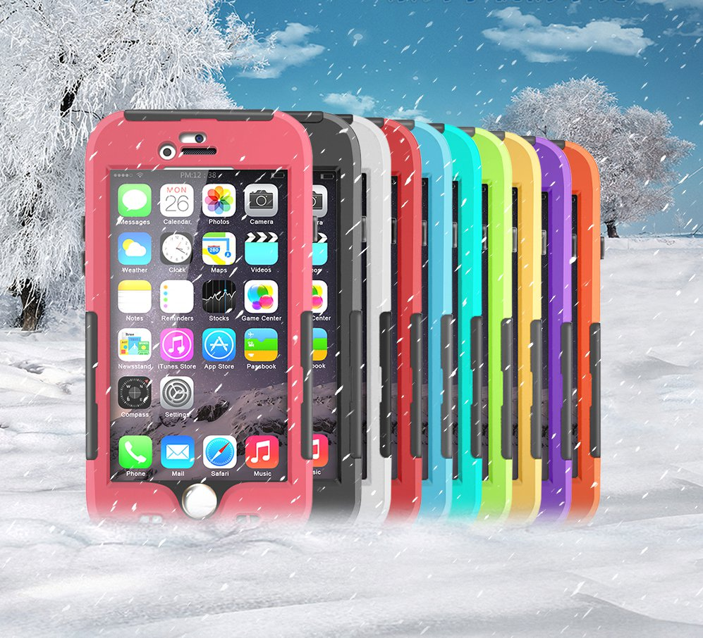 Latest Waterproof Crashproof Protective Sleeve Case For iPhone 6Plus 5.5
