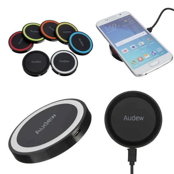 AUDEW Q5 Universal Qi Wireless Charger Charging Pad Transmitter