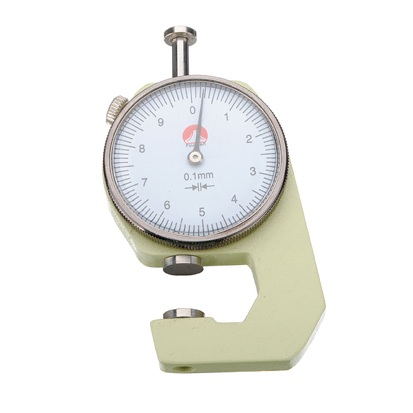 0 to 10x0.1mm Round Dial Thickness Gauge Measurement Tool
