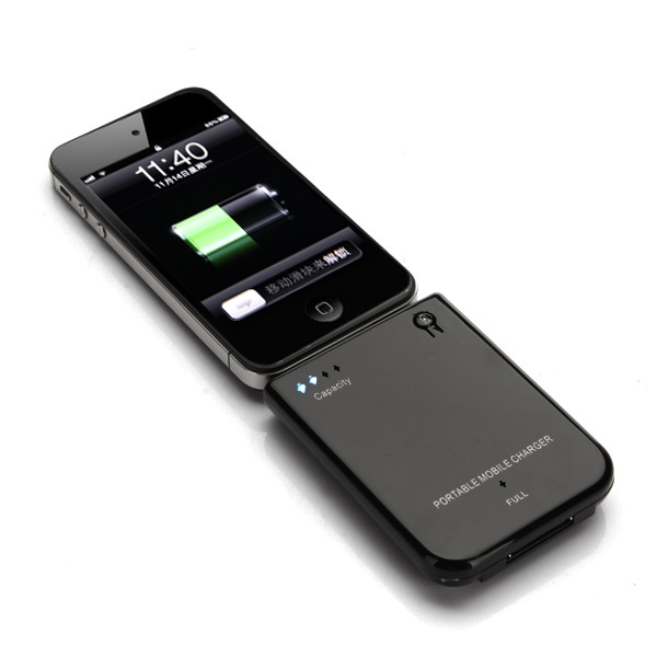 2800mAh External Power Backup Battery Charger for iPhone 4 4S 3