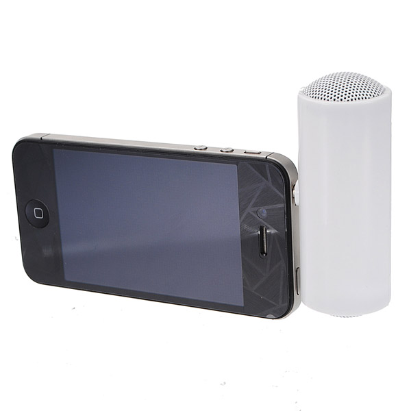 3.5mm Mini Portable Stereo Speaker For iPhone Smartphone Device