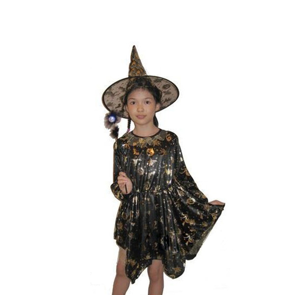 Halloween Kids Witch Cosplay Costume