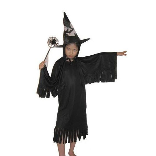 Halloween Costume Witch Tassel Kids Cosplay Accessories
