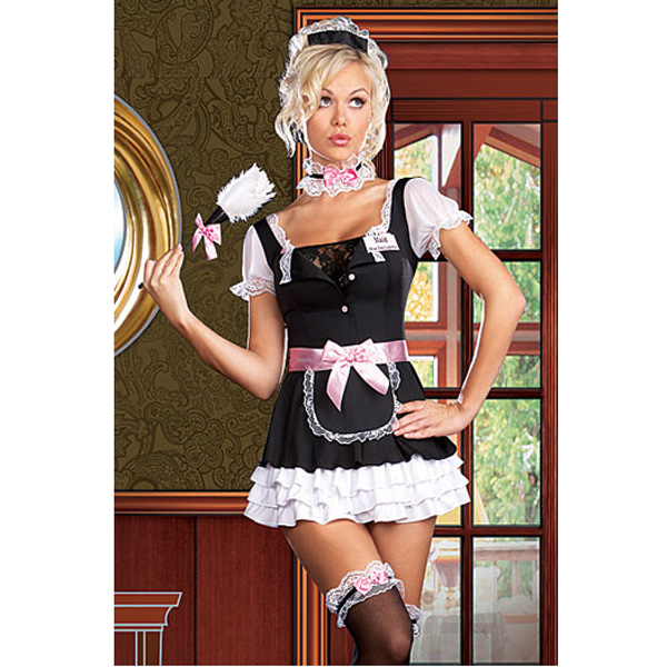 Costume Maid Outfit Uniform Servant Cosplay