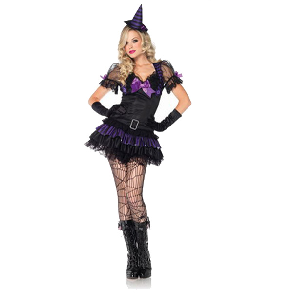 Costume With Hat Mysterious Witch Uniform Temptation