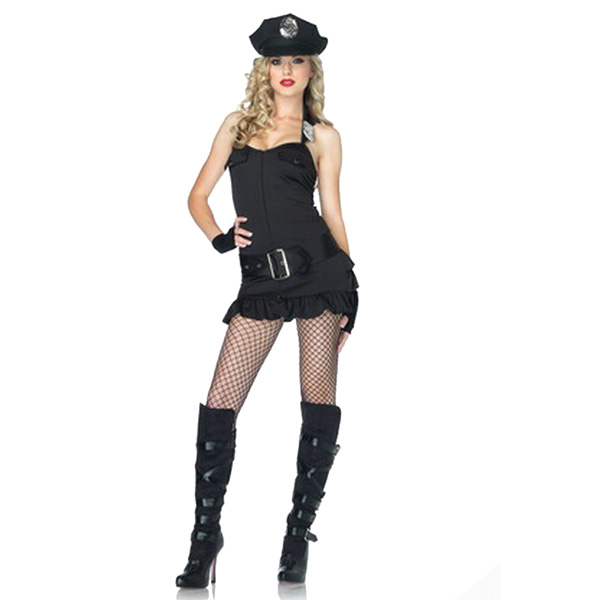 Costume Police Uniform Sexy Cosplay