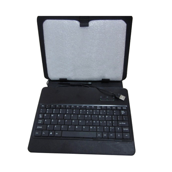 USB Keyboard Bracket Leather Case Bag With Stand For 8 Inch Tablet PC