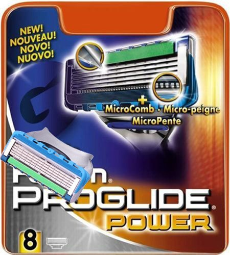 High Quality p-power Men's Razor Blades Shaver Blades Shaving Free Sh