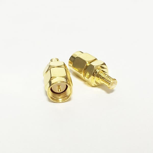 SMA Male Plug  to MCX  Male Plug  RF Coax Adapter convertor  Straight