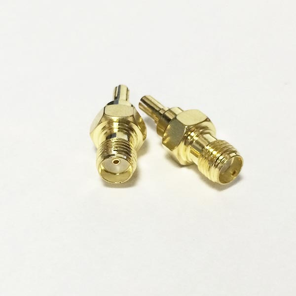 SMA Female Jack  to CRC9  Male Plug  RF Coax Adapter convertor  Strai