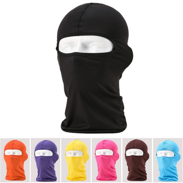 Full Face Lycra Balaclava Headwear Ski Neck Cycling Motorcycle Mask Ne