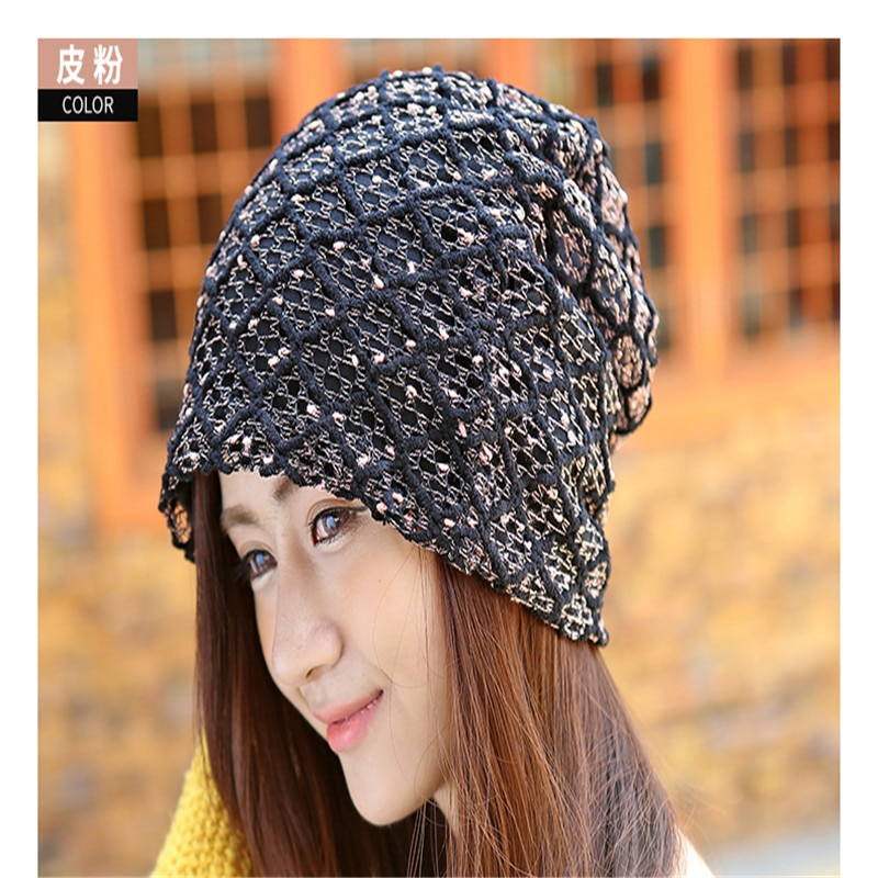 and fall Baotou Hat scarf Hat Cap piles of chemotherapy head Cap sleev