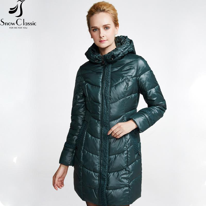 Female Winter Jacket 2016 Very Warm Winter Coats Hooded Jacket Parka W