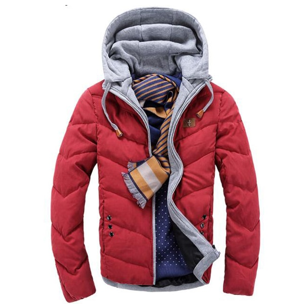 Arrive Autumn and Winter Coats Fashion Men's Cotton-Padded Clothes