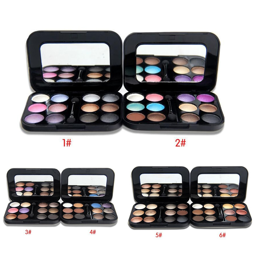 12 Color Nude Eyeshadow Palette Makeup Naked Smoky Shimmer Eye Shadow